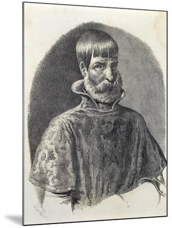 Portrait of Juan Ponce De Leon, 1513--Mounted Giclee Print