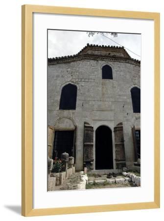 Albania, Kruje, the Dollma Teqe, Bektashi Temple, Islamic Sufi Order, Facade, Outside, 18th Century--Framed Giclee Print