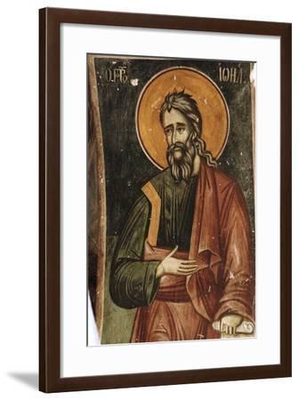 Frescoes, Exonarthex of Saint Nicholas Church--Framed Giclee Print