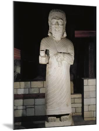 Turkey, Malatya, Monumental Statue Representing King Tarhunza of Milid, Limestone--Mounted Giclee Print