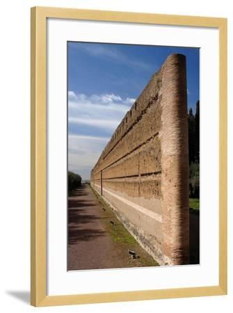 Hadrian's Villa, Pecile, Italy--Framed Giclee Print