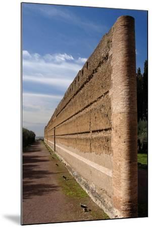 Hadrian's Villa, Pecile, Italy--Mounted Giclee Print