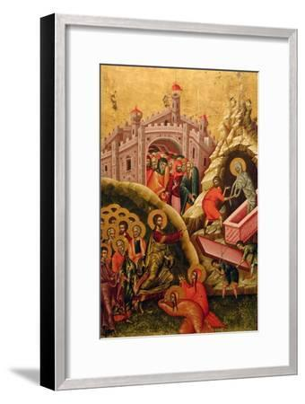 The Raising of Lazarus--Framed Giclee Print