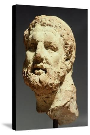 Head of Hercules, Sculpture from Kherson, Ukraine, 3rd-2nd Century BC--Stretched Canvas Print