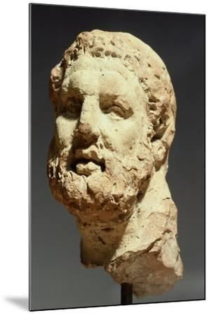 Head of Hercules, Sculpture from Kherson, Ukraine, 3rd-2nd Century BC--Mounted Giclee Print