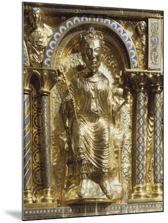 16th Century Charlemagne Shrine in Gold, Precious Stones and Enamels--Mounted Giclee Print