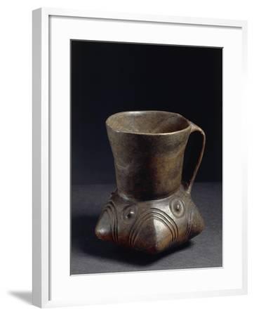 Poland, Prehistory, Lusatian Culture, Ceramic Jug--Framed Giclee Print