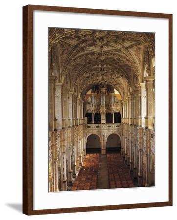 Interior of Church with 1610 Choir and Organ, Frederiksborg Castle, Hillerod, Denmark--Framed Giclee Print