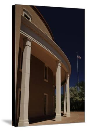 New Mexico State Capitol--Stretched Canvas Print