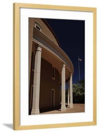 New Mexico State Capitol--Framed Giclee Print