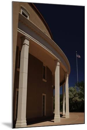 New Mexico State Capitol--Mounted Giclee Print