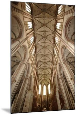Germany, Schleswig-Holstein, Lübeck, Saint Mary Church, Nave Ceiling--Mounted Giclee Print