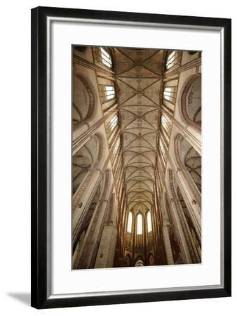 Germany, Schleswig-Holstein, Lübeck, Saint Mary Church, Nave Ceiling--Framed Giclee Print