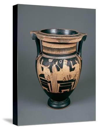 Red-Figure Pottery, Attic Vase, 5th Century B.C.--Stretched Canvas Print