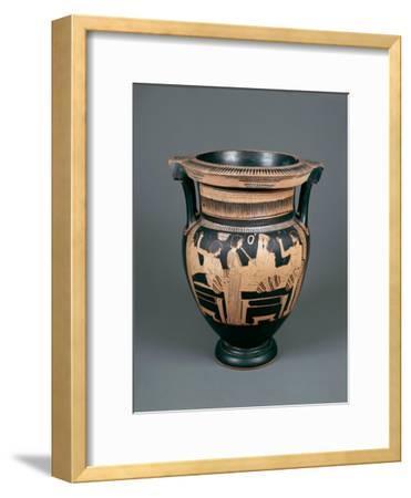 Red-Figure Pottery, Attic Vase, 5th Century B.C.--Framed Giclee Print