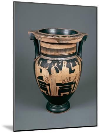 Red-Figure Pottery, Attic Vase, 5th Century B.C.--Mounted Giclee Print