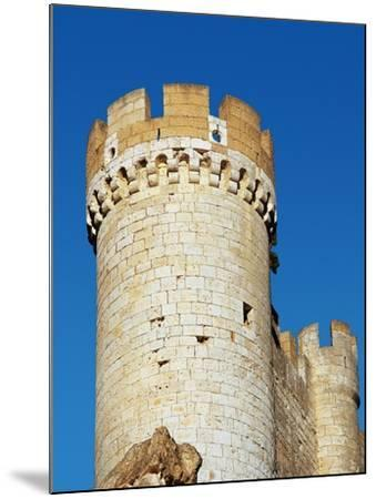Spain, Afiel, Castle, Tower--Mounted Giclee Print