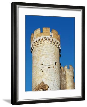 Spain, Afiel, Castle, Tower--Framed Giclee Print