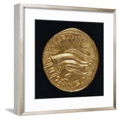 Gold Ottodramma Depicting Horn of Plenty, 263 Bc, Verso, Hellenistic Coins, 3rd Century BC--Framed Giclee Print