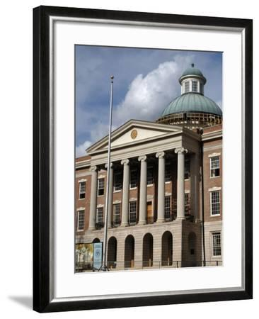 Jackson. the Old Mississippi State Capitol--Framed Giclee Print
