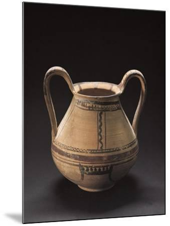 Decorated Vase, Italiot Pottery from Pisticci, Basilicata, Italy--Mounted Giclee Print