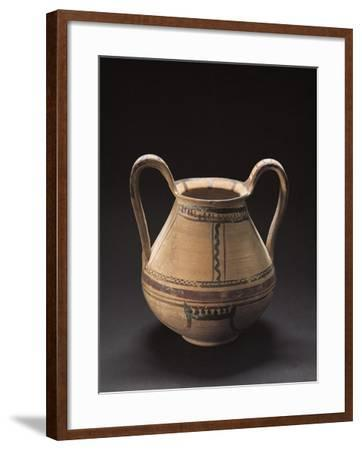 Decorated Vase, Italiot Pottery from Pisticci, Basilicata, Italy--Framed Giclee Print