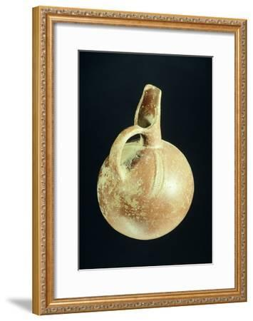Pottery Brocca Jug with a Single Handle from Anatolia--Framed Giclee Print
