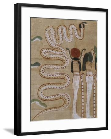 Funerary Papyrus from 18th Dynasty--Framed Giclee Print