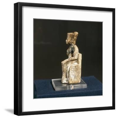 Ivory Figurine of Khufu from Abydos--Framed Giclee Print