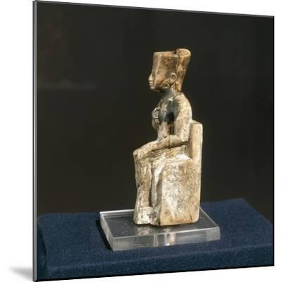 Ivory Figurine of Khufu from Abydos--Mounted Giclee Print