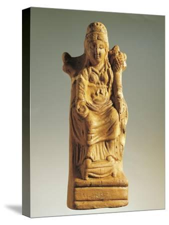 Fictile Statuette Representing the Goddess of Fertility--Stretched Canvas Print