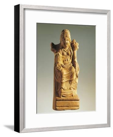 Fictile Statuette Representing the Goddess of Fertility--Framed Giclee Print