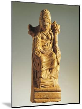 Fictile Statuette Representing the Goddess of Fertility--Mounted Giclee Print
