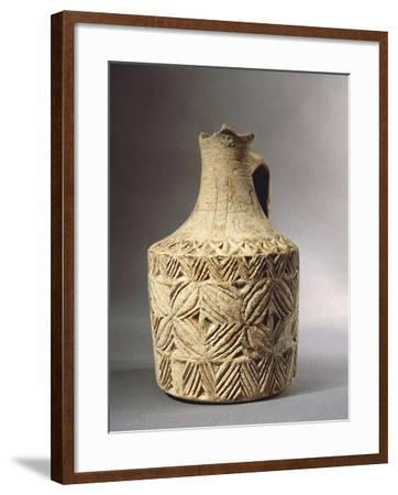 Liturgical Vase Used for Christening Decorated with Crosses--Framed Giclee Print