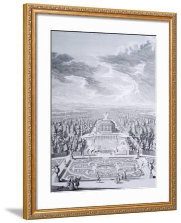 House Badenburg in Nymphenburg Gardens in Munich--Framed Giclee Print
