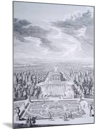 House Badenburg in Nymphenburg Gardens in Munich--Mounted Giclee Print
