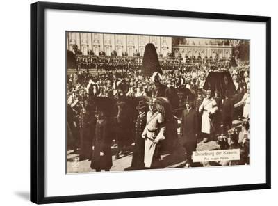 Beisetzung Der Kaiserin Auguste Viktoria 1921--Framed Giclee Print