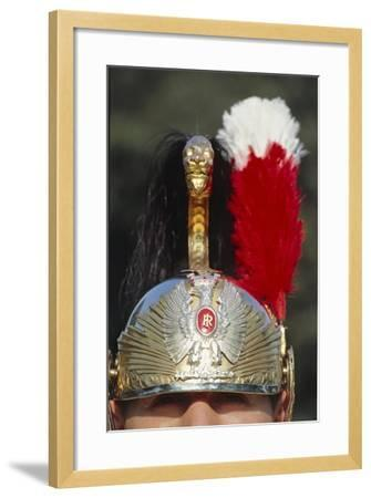 Close Up of Cuirassier's Helmet--Framed Giclee Print