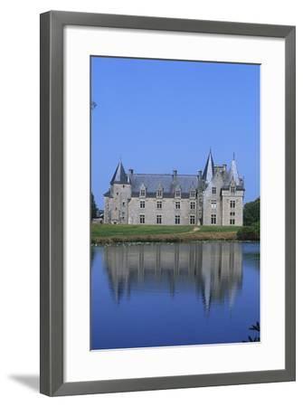 France, Brittany, Chateau De La Motte Beaumanoir--Framed Giclee Print