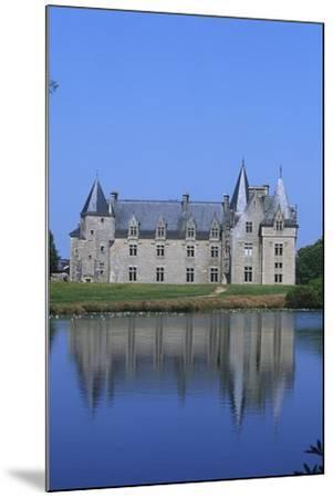 France, Brittany, Chateau De La Motte Beaumanoir--Mounted Giclee Print