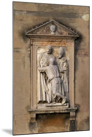 Italy, Veneto, Garda, San Vigilio, Decorative Detail from Villa Guarienti--Mounted Giclee Print