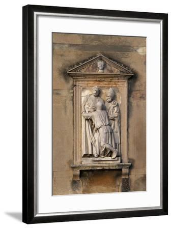 Italy, Veneto, Garda, San Vigilio, Decorative Detail from Villa Guarienti--Framed Giclee Print
