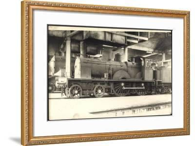 Foto Deutsche Dampflok Baden 574, Tender--Framed Giclee Print