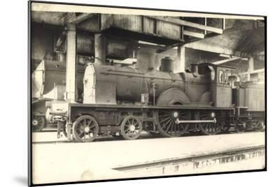 Foto Deutsche Dampflok Baden 574, Tender--Mounted Giclee Print