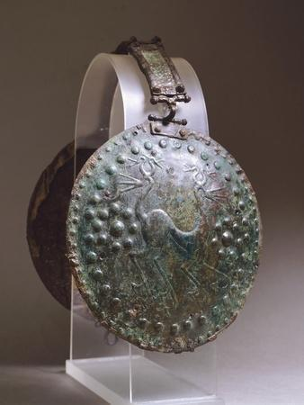 Discs from Bronze Armour, from Alfedena, Abruzzo, Italy, Piceno Civilization, 9th-3rd Century BC--Framed Giclee Print