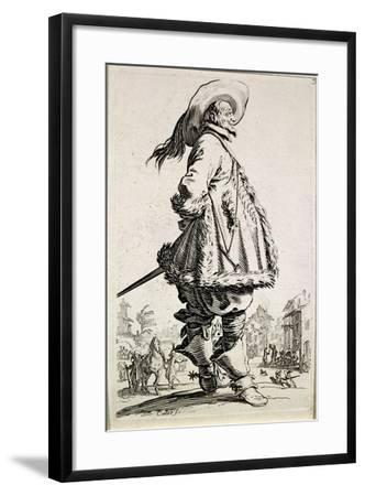 The Musketeer, from Series La Noblesse--Framed Giclee Print