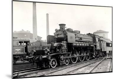 Foto Deutsche Dampflok T18 1002 U Nr. 54 1679, Tender--Mounted Giclee Print