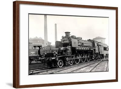 Foto Deutsche Dampflok T18 1002 U Nr. 54 1679, Tender--Framed Giclee Print