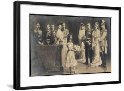Künstler Wilhelm II, Hochzeit Eitel Friedrichs--Framed Giclee Print