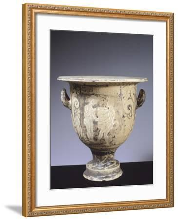 Alto Adriatico Bell Krater Depicting Satyrs and Harvesters, Italy--Framed Giclee Print